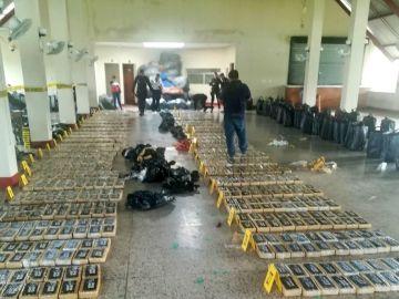 Incautación de cocaína en Guatemala