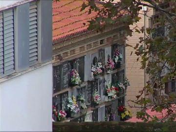 Imagen de las vistas de un piso en Valencia con vistas al cementerio