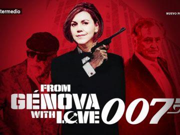 """'Desde Génova con amor, con licencia para finiquitar': """"la habilidad para el espionaje de Cospedal"""""""