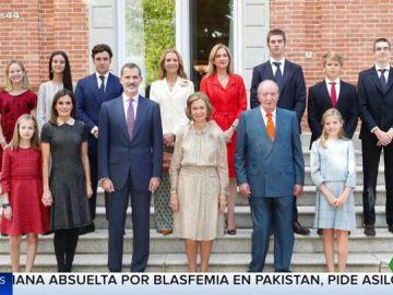 La fotografía de la Familia Real