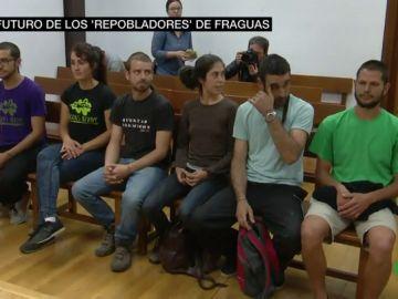 El futuro de los pobladores de Fraguas se decide este miércoles: piden para ellos un año y medio de prisión por reconstruir un pueblo