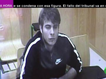 Se muestra impasible y solo pestañea: así recibió Patrick Nogueira su condena a prisión permanente por el crimen de Pioz