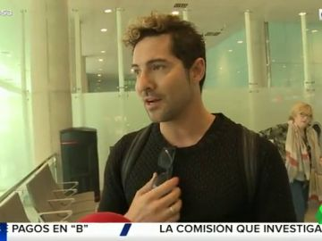 La reacción de David Bisbal a las incendiarias declaraciones de Elena Tablada