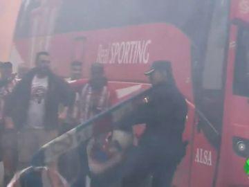 Alta tensión en Asturias por el derbi entre el Oviedo y el Sporting