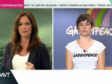 """Paloma Nuche (Greenpeace): """"El ejemplo del edificio de Tenerife no es único, hay muchos a lo largo de la costa española y puede volver a ocurrir"""""""