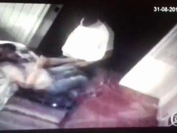 Una actriz brasileña muestra en televisión vídeos de su marido maltratándola