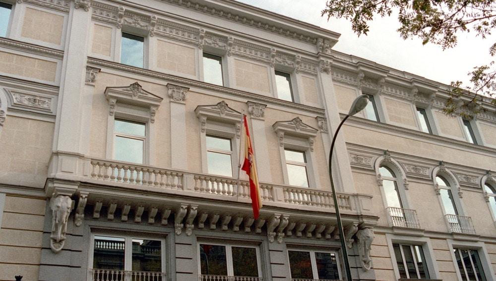 Imagen de la fachada del Consejo General del Poder Judicial (CGPJ)