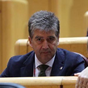 El portavoz del Grupo Popular en el Senado, Ignacio Cosidó