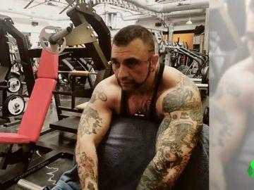 El 'Hulk italiano', así es el hombre que viajó desde Italia hasta Tenerife para rociar con ácido la cara de su exnovia