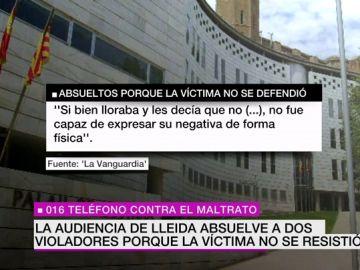 """Absuelven de violación a dos defendidos por un abogado de 'La Manada' porque la víctima """"sólo dijo 'no"""" y no se resistió físicamente"""
