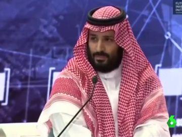 El príncipe heredero de Arabia Saudí