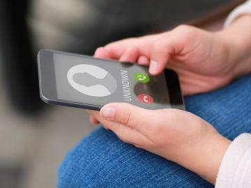 Llamada entrante al móvil
