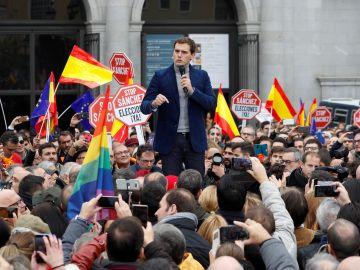 Albert Rivera durante un acto de España Ciudadana