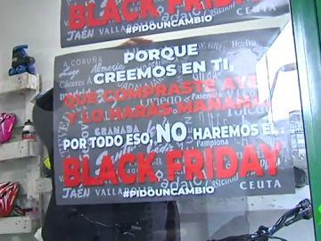 Pequeño comercio contra el Black Friday