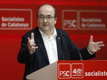 El secretario del PSC, Miquel Iceta.