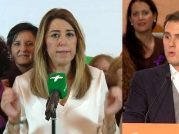 Susana Díaz y Albert Rivera