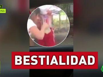 Detenida la mujer que pegó bengalas al cuerpo de su hijo