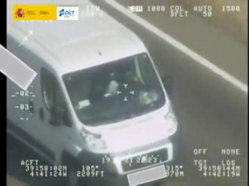 La DGT intensifica el control a los conductores de furgonetas