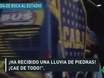 El bus de Boca habría sido atacado desde dentro el Monumental