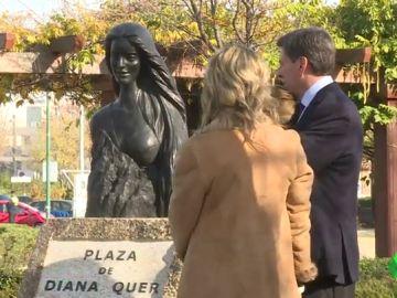Una plaza y una escultura para Diana Quer: Pozuelo de Alarcón rinde homenaje a la joven asesinada