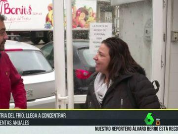 Una de las 'trabajadoras del frío' habla en Carretera y Manta