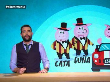 Con cerdos y lechones: así es el cuento de Dani Mateo que explica lo que está ocurriendo en Cataluña