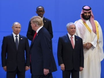 Trump y Putin en el G20