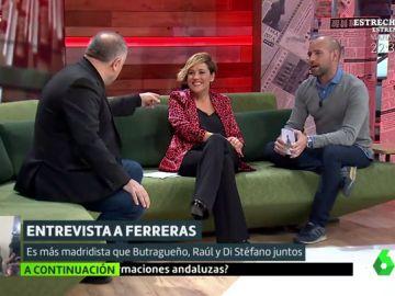 Antonio García Ferreras, Cristina Pardo y Gonzalo Miró