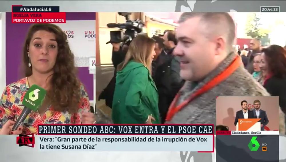 Noelia Vera, en Al Rojo Vivo