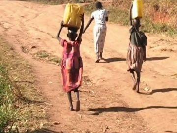 Niñas en Sudán del Sur