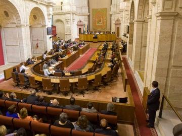 Imagen de archivo del parlamento andaluz