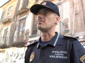Eduardo Russo, comisario de la Policía Local de Valencia