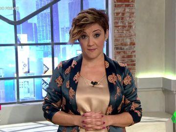 La presentadora de Liarla Pardo, Cristina Pardo