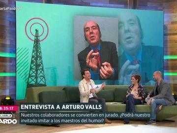 Arturo Valls en Liarla Pardo