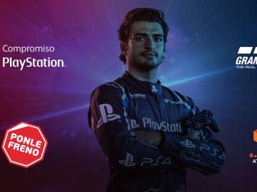 Ponle Freno da el salto a los videojuegos de la mano de PlayStation y Carlos Sainz