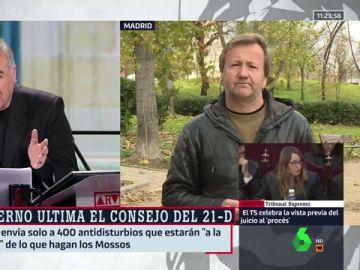 """Rendueles, del Consejo de Ministros del 21D: """"A los analistas de la Policía les preocupa que la falta de autoridad en el poder catalán produzca problemas en las calles"""""""