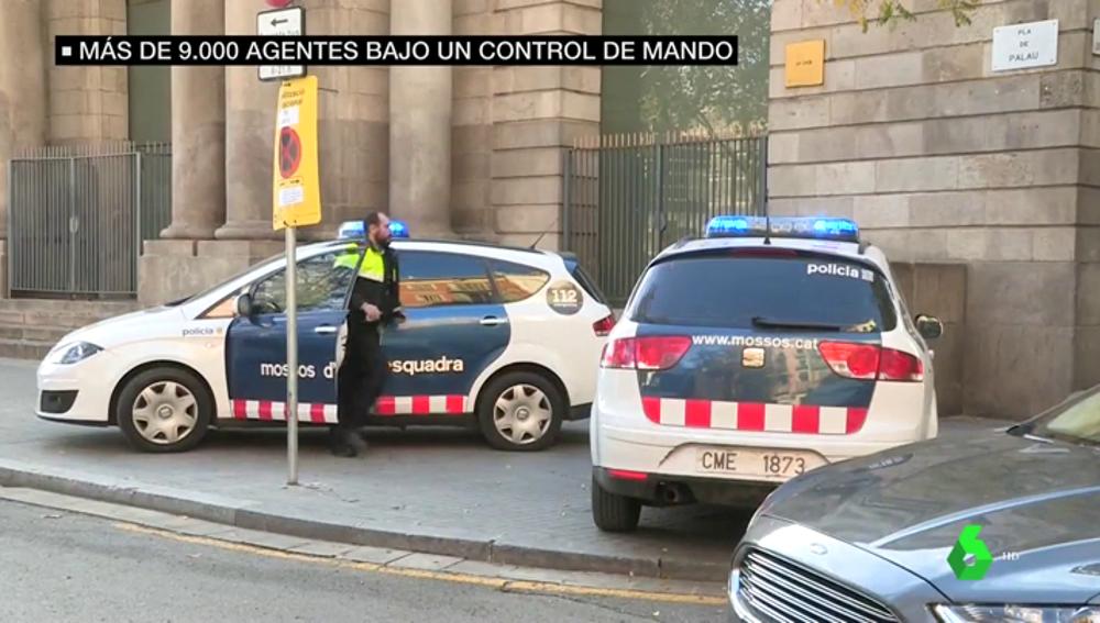 El dispositivo de seguridad para el Consejo de Ministros en Barcelona