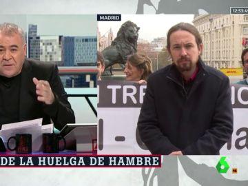 """Pablo Iglesias: """"Es vergonzoso que Zaplana vuelva a la cárcel con leucemia, pero esta empatía debemos tenerla también con los políticos catalanes presos"""""""