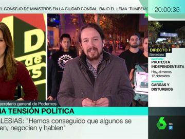 Pablo Iglesias, en Más Vale Tarde