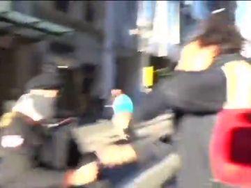 Agreden a un periodista de Intereconomía cuando informaba de la protesta de los CDR en Barcelona