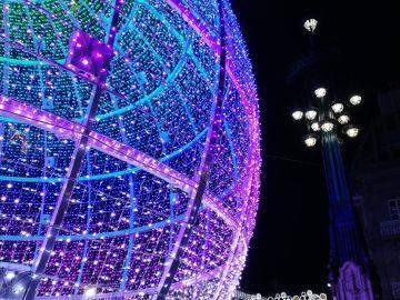 Luces navideñas de Vigo