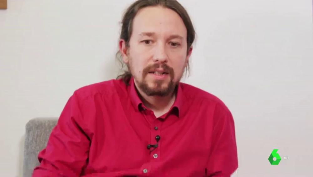 """Pablo Iglesias: """"Basta con escuchar a Pablo Casado para entender la importancia política de Vox"""""""