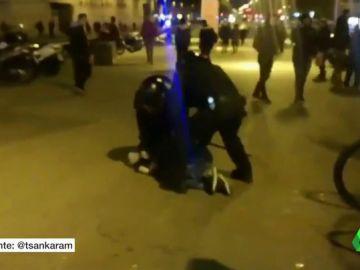 Detención de una persona tras la concentración por la perra 'Sota'