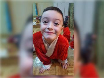 Daniel, el pequeño que busca un trasplante de médula