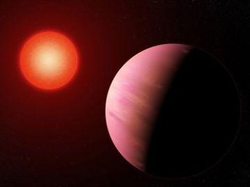 Ilustración del planeta K2-288Bb
