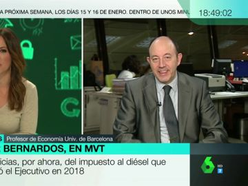 Entrevista a Gonzalo Bernardos en Más Vale Tarde
