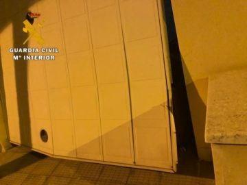 Imagen del domicilio asaltado por los ladrones