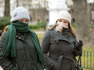 Caen las temperaturas en España
