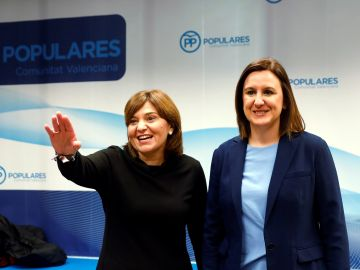Isabel Bonig y María José Català