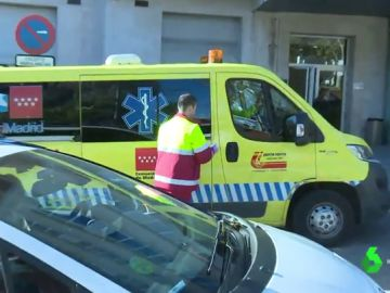 Imagen de archivo de una ambulancia